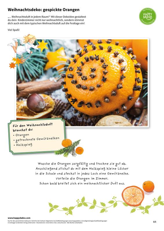 Content d421 weihnachtsdeko gespickte orangen happydadoo