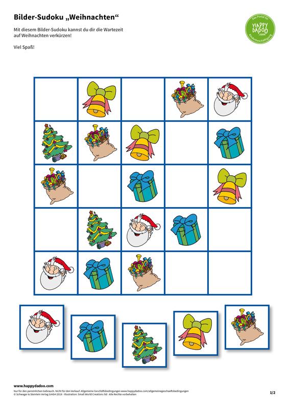 Content d423 bilder sudoku weihnachten happydadoo