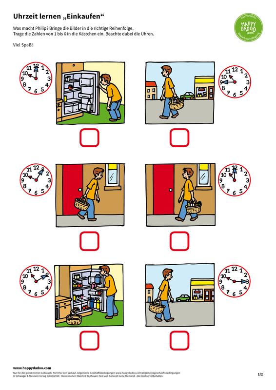 Content d413 uhrzeit lernen einkaufen happydadoo