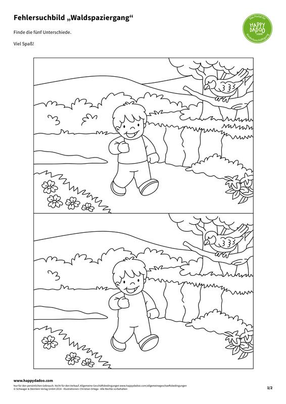 Content d410 fehlersuchbild waldspaziergang happydadoo
