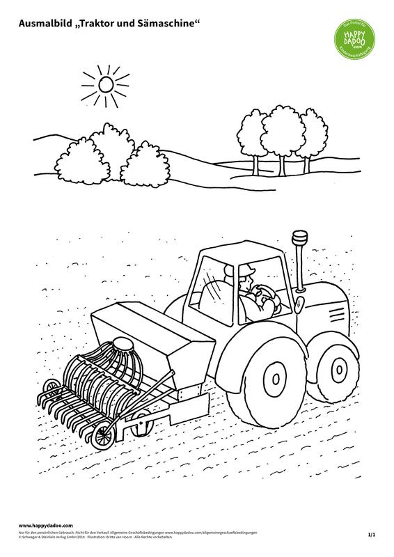 Content d427 ausmalbild traktor und s%c3%a4maschine happydadoo