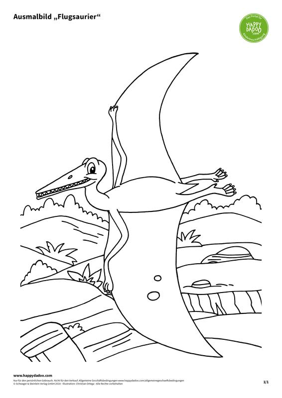Content d435 ausmalbild flugsaurier happydadoo