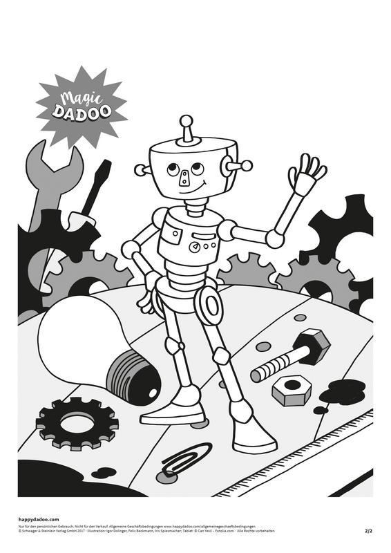 Content d279 ausmalbild ar roboter happydadoo