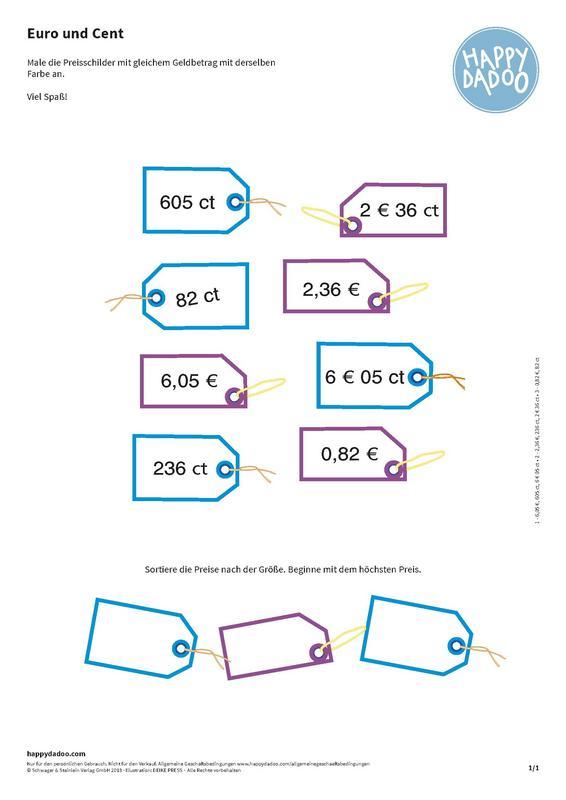 Content d267 lernen euro und cent happydadoo