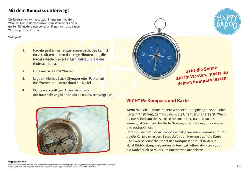 Content d248 bastelanleitung mit dem kompass happydadoo